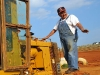 Volunteer Speedway - Owner Joe Loven On Grader (3)