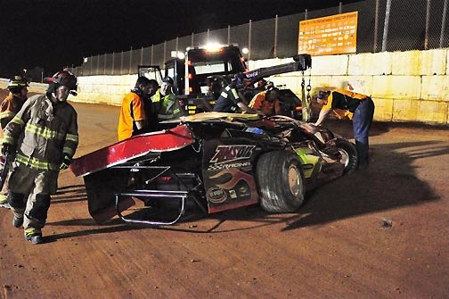 Ball doubles his pleasure with Pro Late Model sweep Saturday