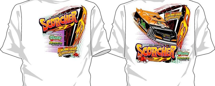 11th Annual Scorcher T-shirt (2014)