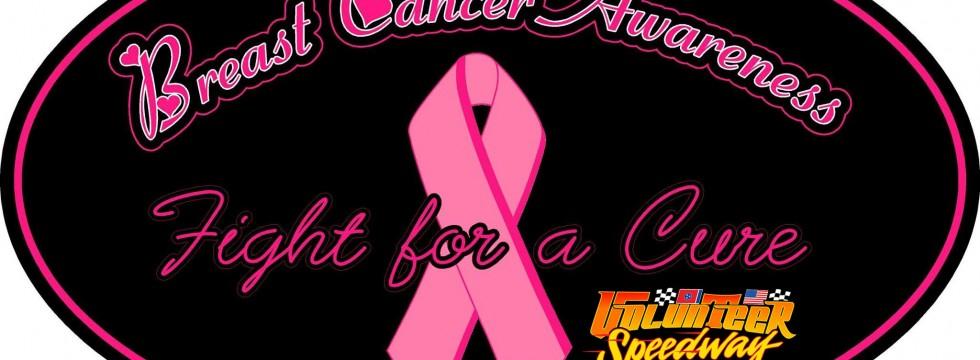 Volunteer Speedway - Breast Cancer Awareness