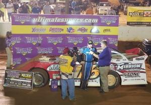 (8-18-16) Jonathan Davenport - Volunteer Speedway (Scorcher)